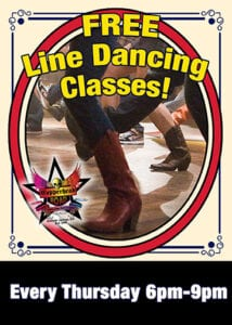 Line Dancing Classes at Copperhead Road Bar